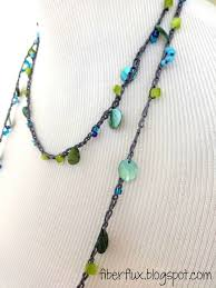 bead crochet necklace pattern images 213 best crochet necklace images bead crochet jpg