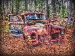 car yard junkyard 1947 mercury sedan old car antique car junk yard junk