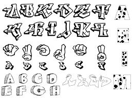 3d graffiti letters a z graffiti alphabet letters az design