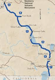 map of highway 395 oregon the oregon outback scenic byway tripcheck oregon traveler