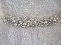 bridal belt polly pearl bridal sash handmade pearl bridal belt uk