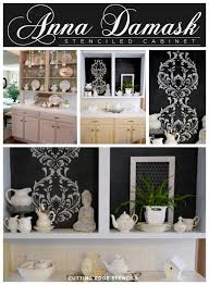stencils for kitchen cabinets fab furniture fixes using stencils stencil stories stencil stories