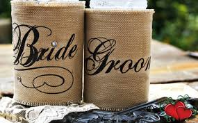 koozie wedding favor wedding koozie ideas weddingsrusdeco