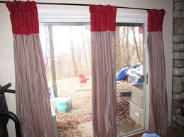 glass door curtain ideas blinds for french doors and blinds for