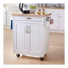 mainstays white kitchen island cart on wheels storage pantry work