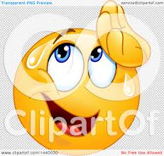 small halloween emoticons transparent background clipart of a cartoon yellow emoji smiley face emoticon wiping