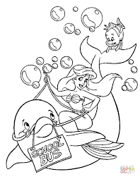 coloring pages of the little mermaid ariel and under sea world coloring page free printable coloring