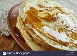 cuisine maghreb ghrayaf algerian pancakes maghreb cuisine up stock photo