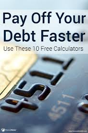 Free Debt Reduction Spreadsheet Credit Card Calculator 10 Best Calculators To Get Out Of Debt