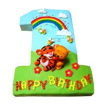 alphabet birthday cake number cakes online ferns n petals