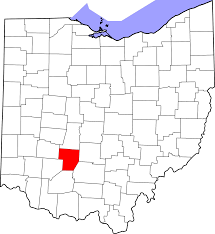 Map Of Ohio State by File Map Of Ohio Highlighting Fayette County Svg Wikimedia Commons
