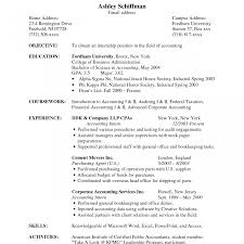 sle accounting resume accounting resume sles free lovely chief accountant sle for