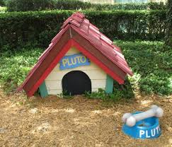30 dog house decoration ideas bright accents backyard designs
