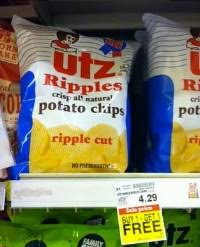 Ripple Chips Buy One Get One Utz Potato Chips At Kroger