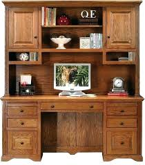 realspace landon desk with hutch realspace landon desk with hutch oak by office depot officemax for