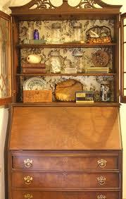 freebie vintage secretary desk with hutch hometalk