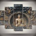 Buddha Room Decor Zen Living Room Ideas Buddha Painting Decorholic 44217