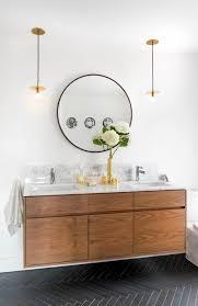 Wonderful Mid Century Modern Bathroom Vanity Mid Century Modern - Mid century bathroom vanity light