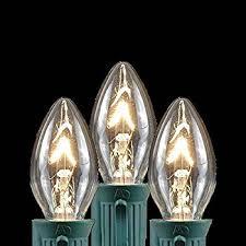 Christmas Tree Spare Bulbs - novelty lights 25 pack c9 outdoor string light christmas