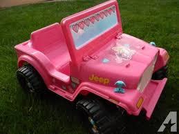 barbie jeep power wheels 90s fisher price power wheels girls barbie jeep 6 volt battery powered
