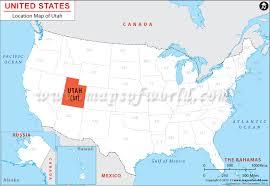map usa utah where is utah location map of utah