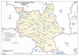 Kreis Bad Kreuznach Wahlkreis 206 U2013 Worms U2013 Bei Der Bundestagswahl 2017 Das Blogmagazin