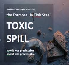 the formosa ha tinh steel toxic spill one year on avoiding