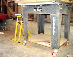 Craftsman Radial Arm Saw Table Beginner U0027s Guide To Old Dewalt Radial Arm Saw U2014restoring An Amf