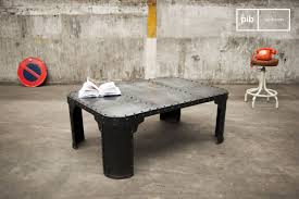 Table Basse Industrielle Pas Cher by