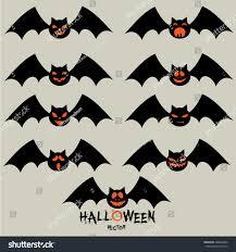 Pictures Of Halloween Bats Halloween Bat Stock Vector 306604682 Shutterstock