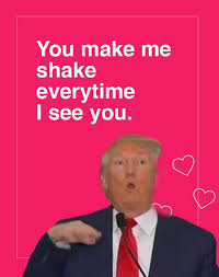 Valentines Day Ecards Meme - donald trump valentine s day ecards 2017 make love great again