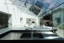 modern glass house design from a farmhose in uk architecture