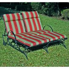 Walmart Outdoor Chaise Lounge Cushions Blazing Needles 48 X 72 In Outdoor Double Chaise Lounge Cushion