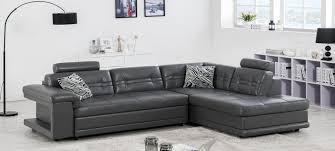 canap gris fonc canapé d angle en cuir blanc à prix canon
