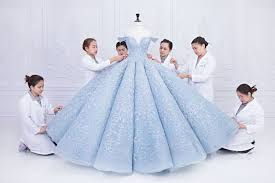 michael cinco swarovski wedding dress vogue arabia