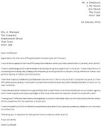 property administrator cover letter example u2013 cover letters and cv