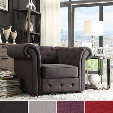 Patterned Accent Chair Chesterfield Style Patterned Accent Chairs