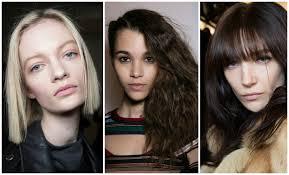 2016 fall u0026 winter 2017 hairstyles hair trends on the runway
