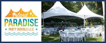table and chair rentals island island paradise party rentals llc is a party equipment rental