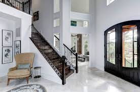 when and where can marble floors become an design feature