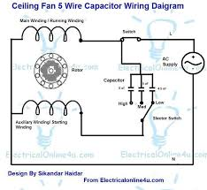 electric motor capacitor wiring diagram wiring schematics and