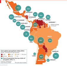 Map Centro America by Corruption In Latin America Is Skyrocketing Here U0027s Why That U0027s
