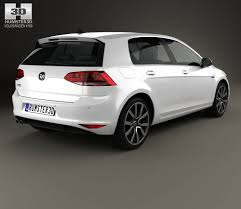 volkswagen lamando volkswagen golf gte 2015 3d model hum3d