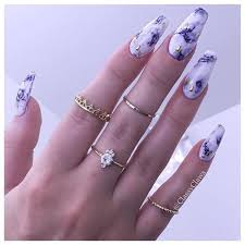 53 incredible marble art nail designs you can do at home