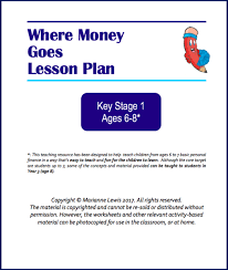 where money comes from teaching resource for key stage 1