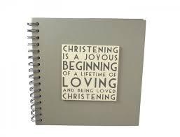 Christening Photo Album Of India Christening Guest Book Or Photo Album