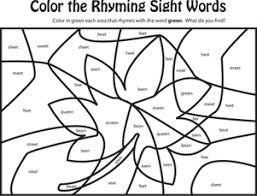 rhyming words worksheets worksheets