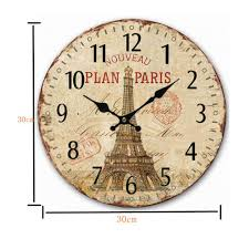 high quality wood mechanical clock antique promotion shop for high