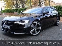 cheap audi a6 for sale uk audi a6 avant 2 0 tdi 177 black edition automatic 5dr for sale