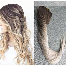 ombre hair extensions clip in wei hai shine international co ltd